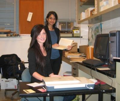 Brooke and Anika making PDF's of OFRL series