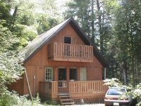 The Miller cabin
